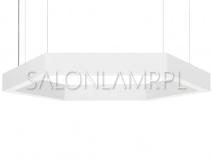 Hexagon LED 25W - 655x103x1200mm - Lampa Wisząca