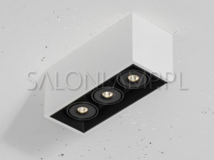 Solid 110.3 NT mini.LED 3x8,5W 268x110x120mm – Oprawa Sufitowa