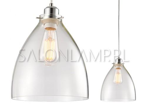 klosz do lampy szklany stożkowy